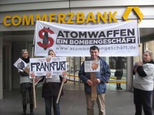 Weltspartag Frankfurt/M. Foto: Heidi Kassai