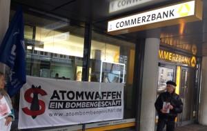 Weltspartag Köln. Foto: DFG-VK Köln