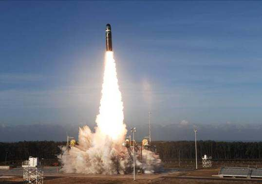 Die M51-Atomrakete
